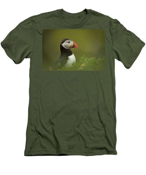 Atlantic Puffin Men's T-Shirt (Athletic Fit)