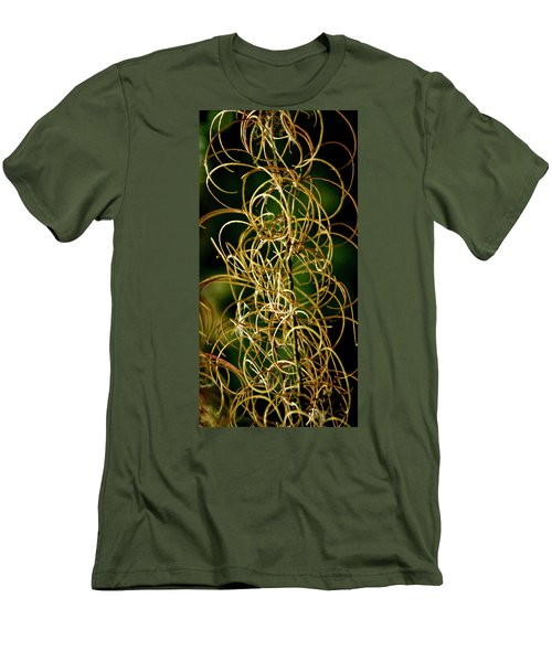 Autumn Fireweed Men's T-Shirt (Slim Fit) by Albert Seger