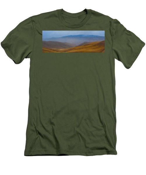 Men's T-Shirt (Slim Fit) featuring the photograph Bakersfield Horizon by Hugh Smith