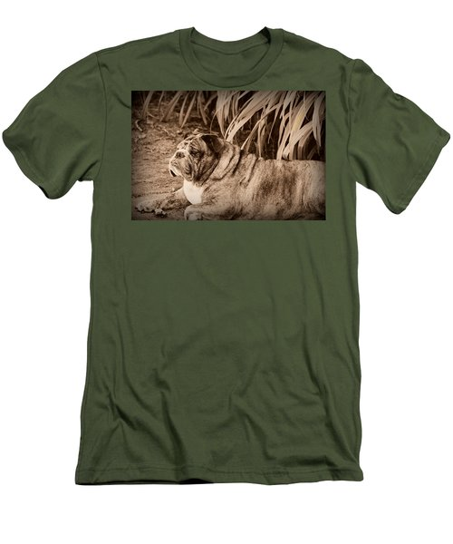 Men's T-Shirt (Slim Fit) featuring the photograph Baydie by Jeanette C Landstrom