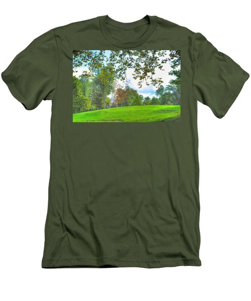 Men's T-Shirt (Slim Fit) featuring the photograph Beginning Of Fall by Michael Frank Jr