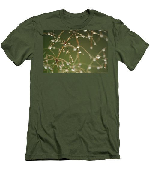 Branches Of Dew Men's T-Shirt (Slim Fit)