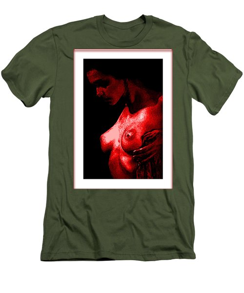 Breast In Color Men's T-Shirt (Slim Fit) by Tbone Oliver
