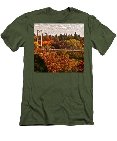 Bridge Men's T-Shirt (Slim Fit) by Bill Owen