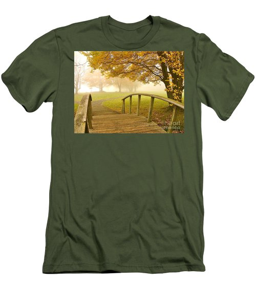 Bridge To Autumn Men's T-Shirt (Athletic Fit)