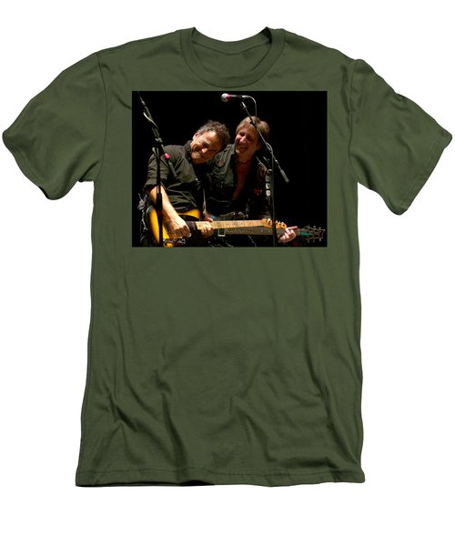 Bruce Springsteen And Danny Gochnour Men's T-Shirt (Athletic Fit)