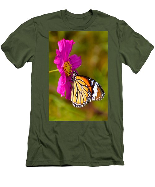 Butterfly II Men's T-Shirt (Slim Fit) by Fotosas Photography
