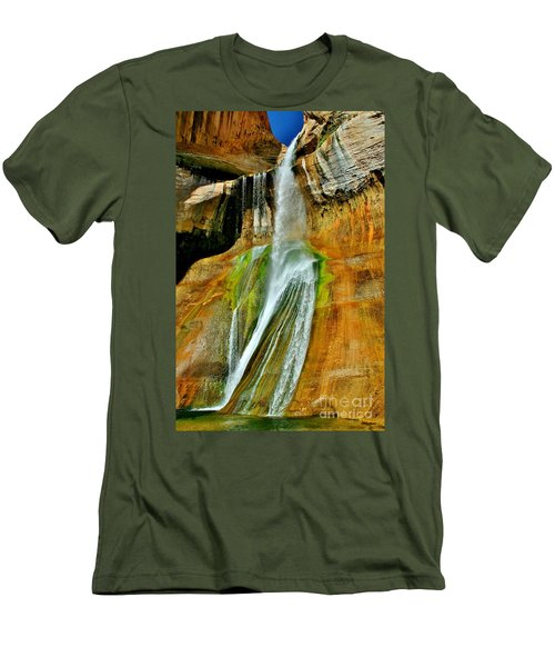 Calf Creek Falls II Men's T-Shirt (Athletic Fit)