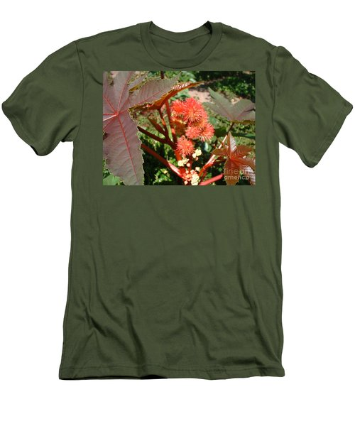 Men's T-Shirt (Slim Fit) featuring the photograph Castor by Mark Robbins