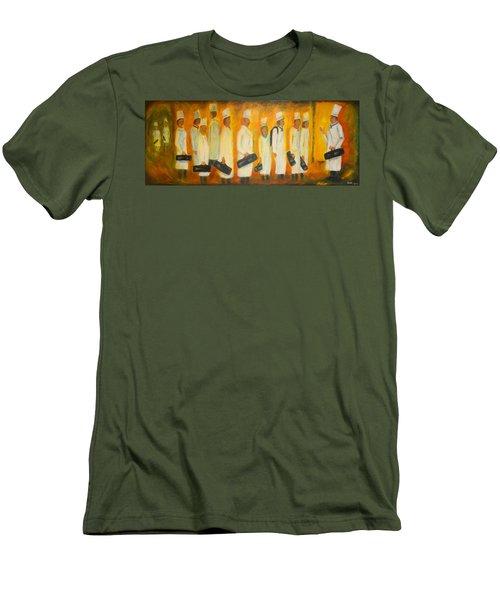 Chef School Men's T-Shirt (Slim Fit) by Diana Haronis