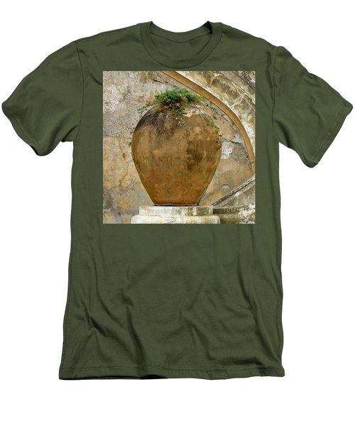 Men's T-Shirt (Slim Fit) featuring the photograph Clay Pot by Lainie Wrightson