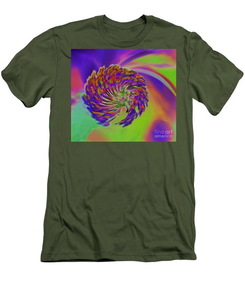 Men's T-Shirt (Slim Fit) featuring the photograph Color Splash by Cindy Manero