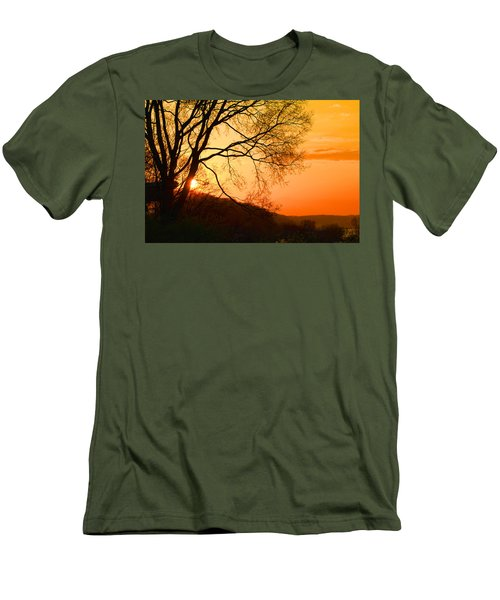 Coming Up Men's T-Shirt (Athletic Fit)