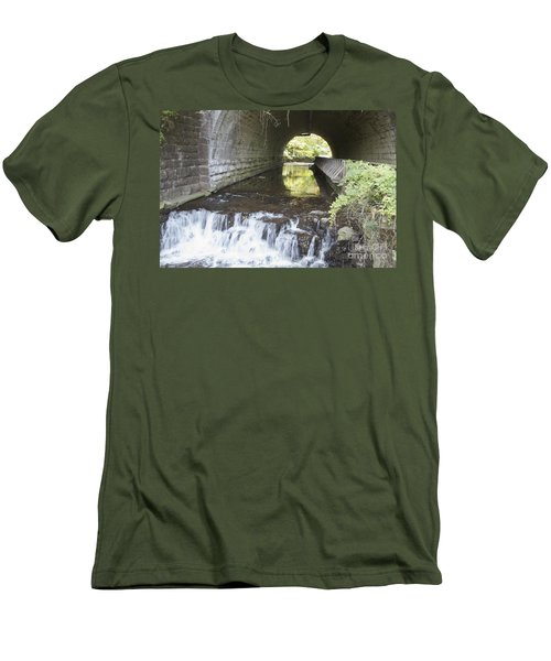 Men's T-Shirt (Slim Fit) featuring the photograph Corbetts Glen by William Norton