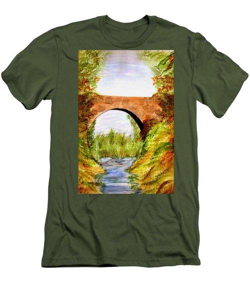 Country Bridge Men's T-Shirt (Athletic Fit)
