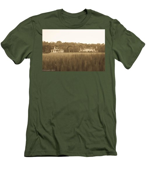 Men's T-Shirt (Slim Fit) featuring the photograph Country Estate by Shannon Harrington
