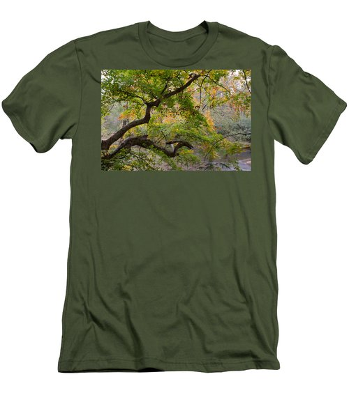 Crooked Limb Men's T-Shirt (Athletic Fit)
