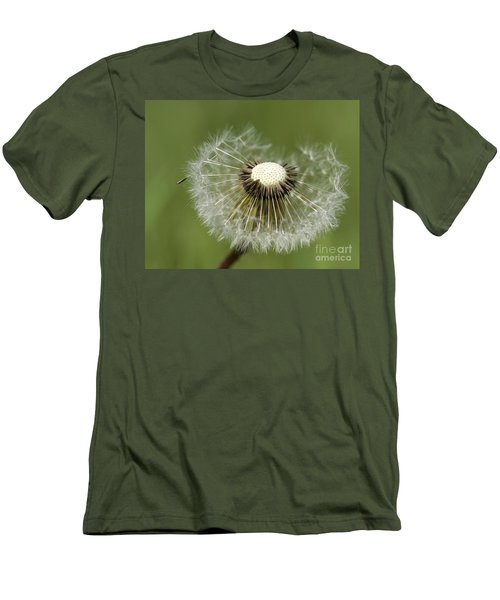 Dandelion Half Gone Men's T-Shirt (Athletic Fit)
