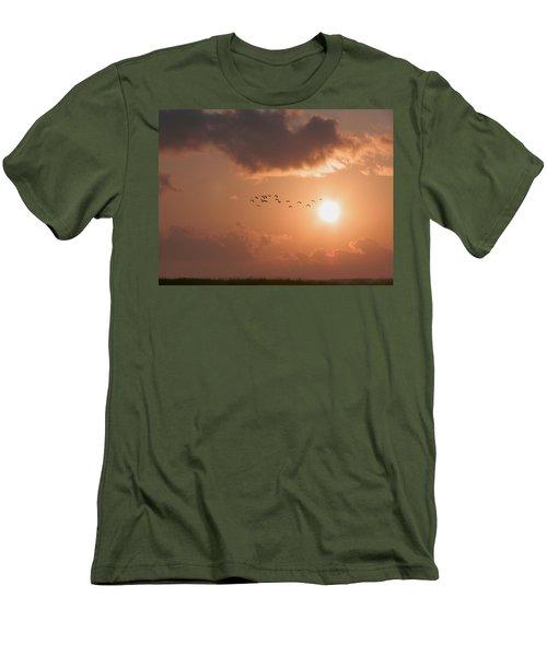 Dawn Flight Men's T-Shirt (Athletic Fit)