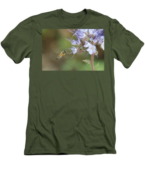 Men's T-Shirt (Slim Fit) featuring the photograph Dbg 041012-0310 by Tam Ryan