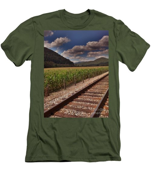Men's T-Shirt (Slim Fit) featuring the photograph Del Rio Tennessee by Janice Spivey