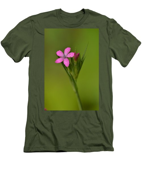 Men's T-Shirt (Slim Fit) featuring the photograph Deptford Pink by JD Grimes