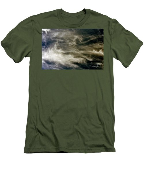 Men's T-Shirt (Slim Fit) featuring the photograph Dirty Clouds by Clayton Bruster