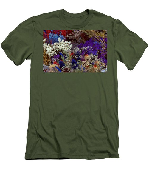 Men's T-Shirt (Slim Fit) featuring the mixed media Early In The Cycle by Terence Morrissey