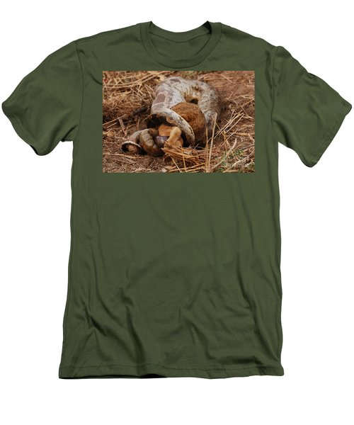 Men's T-Shirt (Slim Fit) featuring the photograph Entrapped by Fotosas Photography