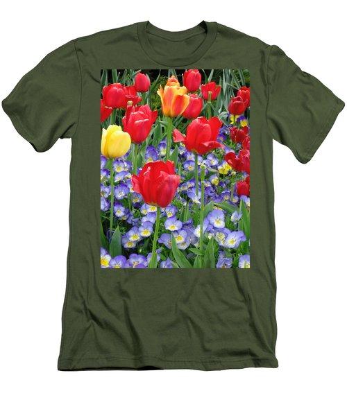 Exultation Men's T-Shirt (Slim Fit) by Rory Sagner