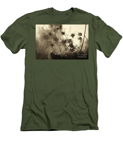 Men's T-Shirt (Slim Fit) featuring the photograph Filaments by Eunice Gibb