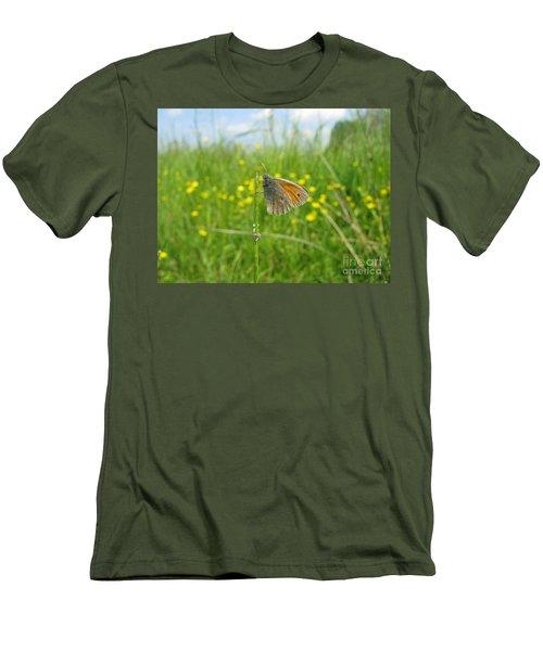 Men's T-Shirt (Athletic Fit) featuring the photograph Fragile Beauty #02 by Ausra Huntington nee Paulauskaite