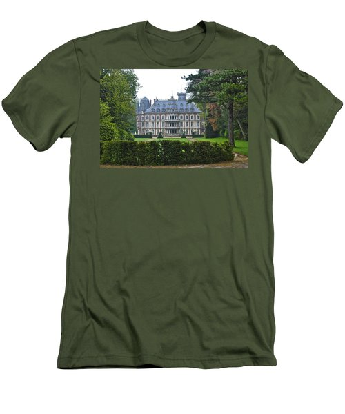French Country Mansion Men's T-Shirt (Athletic Fit)