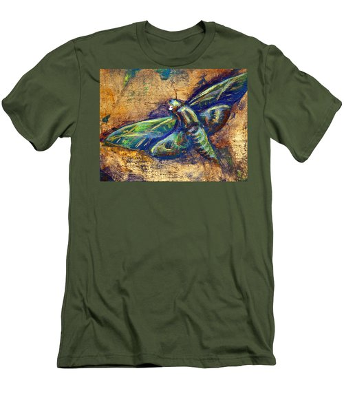 Gold Moth Men's T-Shirt (Athletic Fit)