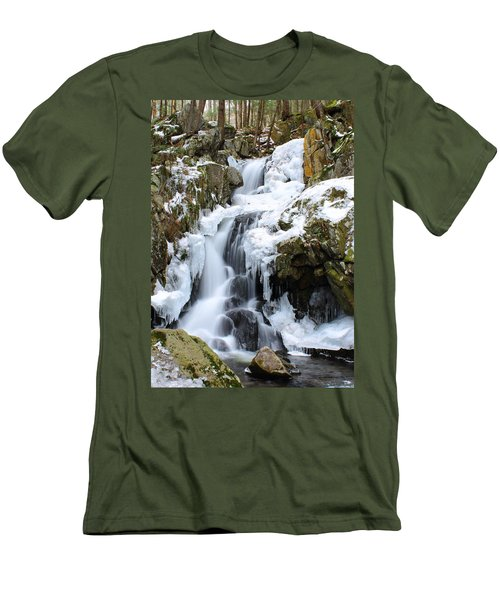Goldmine Falls Men's T-Shirt (Athletic Fit)