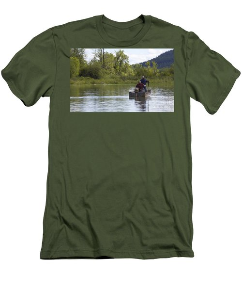Men's T-Shirt (Slim Fit) featuring the photograph Gotcha by Nina Prommer