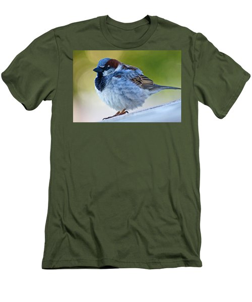 Guard Bird Men's T-Shirt (Slim Fit) by Colleen Coccia