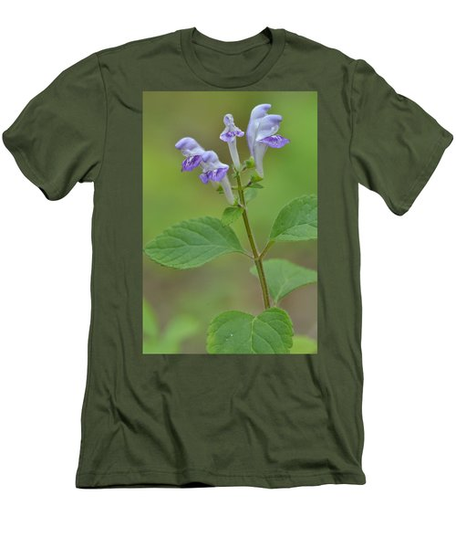 Men's T-Shirt (Slim Fit) featuring the photograph Hairy Skullcap by JD Grimes