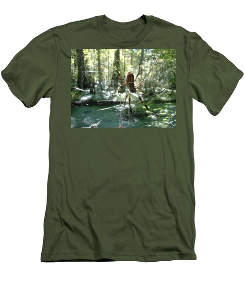 Men's T-Shirt (Slim Fit) featuring the photograph Hanging Loose by Mark Robbins