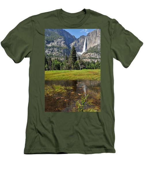 Happy Campers Men's T-Shirt (Slim Fit) by Lynn Bauer