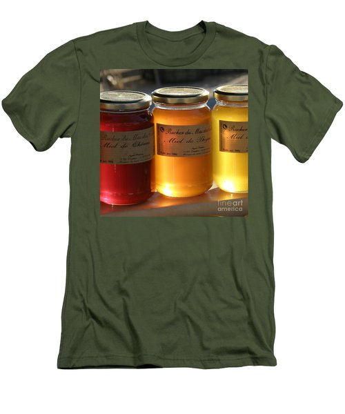 Men's T-Shirt (Slim Fit) featuring the photograph Honey by Lainie Wrightson