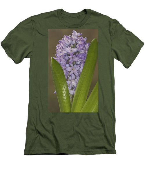 Hyacinth In Full Bloom Men's T-Shirt (Athletic Fit)