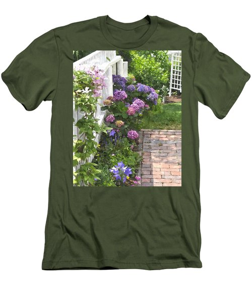 Hydrangeas  Hwc Men's T-Shirt (Athletic Fit)