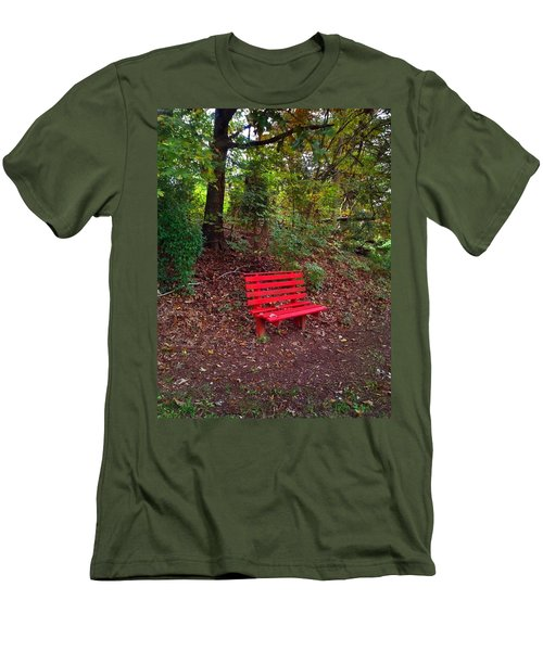 Men's T-Shirt (Slim Fit) featuring the photograph Inviting by Janice Spivey