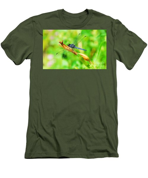 Men's T-Shirt (Slim Fit) featuring the photograph Lace Wings by Cindy Manero