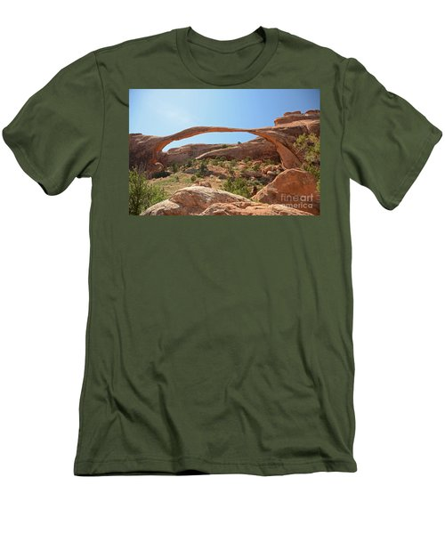 Landscape Arch Men's T-Shirt (Athletic Fit)