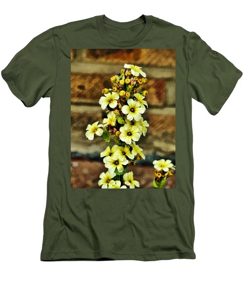 Men's T-Shirt (Slim Fit) featuring the digital art Looking Good by Steve Taylor