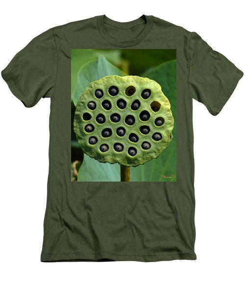 Lotus Capsule-missing Children Dl054 Men's T-Shirt (Slim Fit) by Gerry Gantt