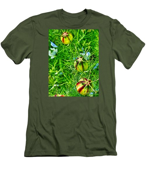 Men's T-Shirt (Slim Fit) featuring the photograph Love In A Mist by Steve Taylor