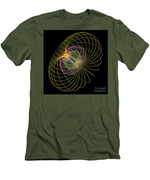 Magnetism 2 Men's T-Shirt (Athletic Fit)